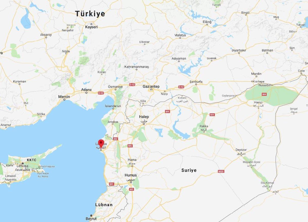Rusya tarafından yapılan açıklamada, uçağın Türkiye sınırına yakın olan Lazkiye civarında Akdeniz'e düşmüş olabileceği ifade edildi.