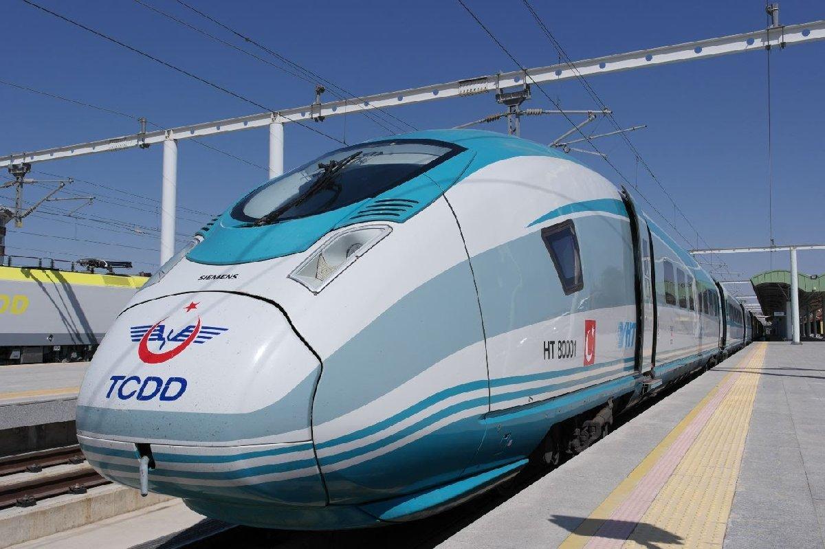 TCDD bünyesinde kullanılan Siemens Valero model trenler.