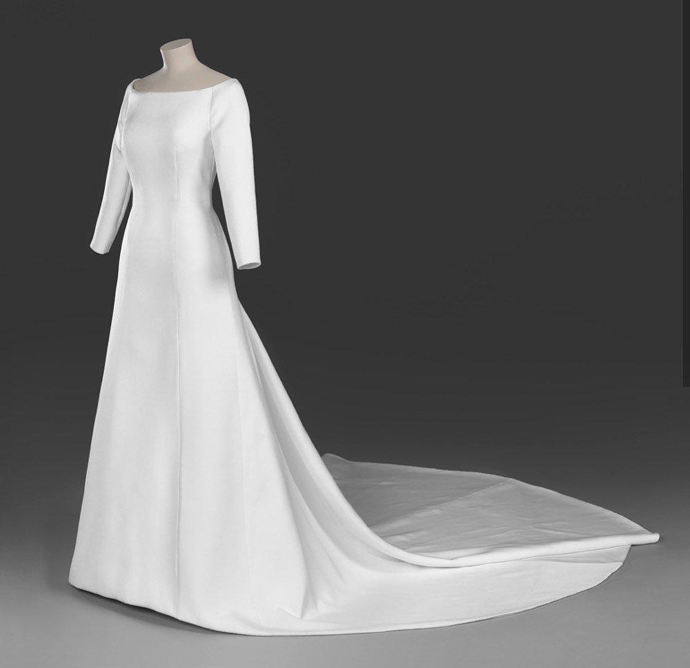Meghan Markle'ın 1.7 milyon TL'lik Givenchy gelinliği...