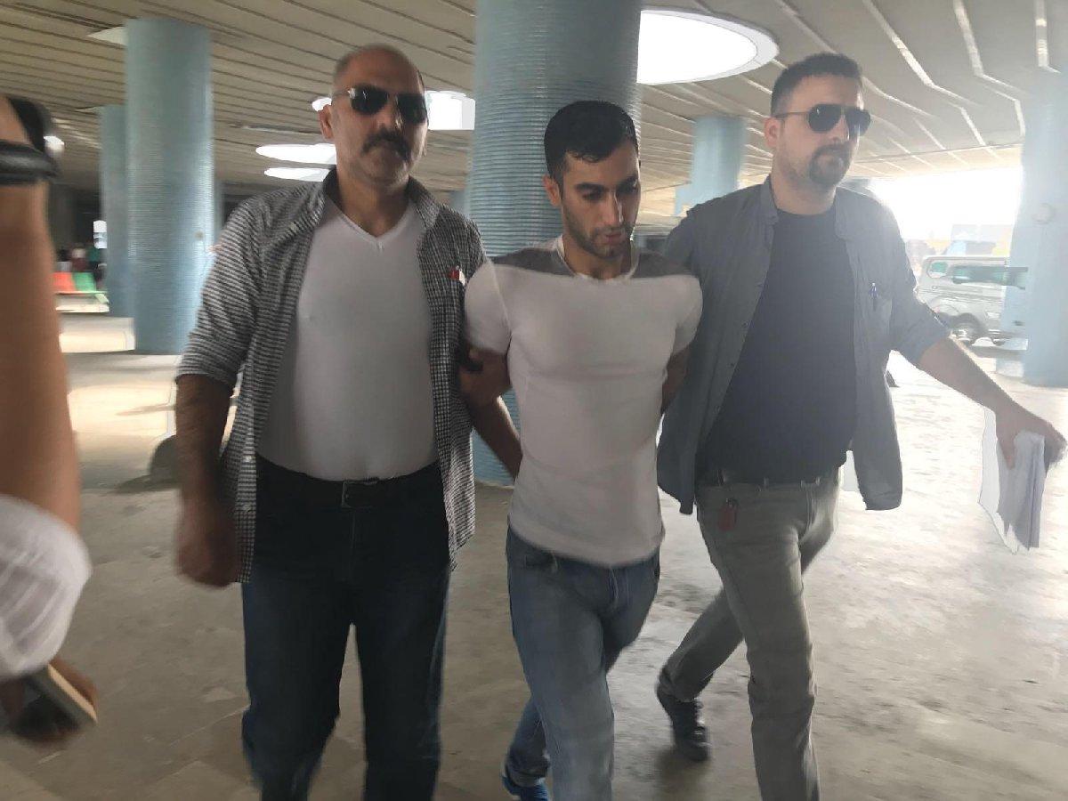 Umut D. tutuklanarak cezaevine gönderildi.