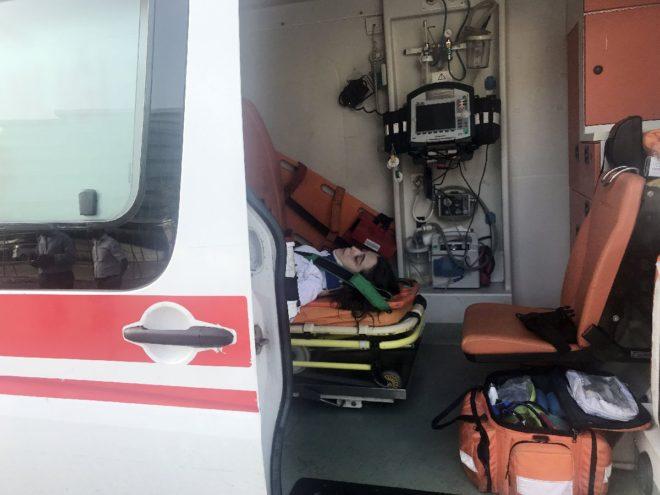 Direnç Dedeoğlu'nun kazada yaralanan eşi