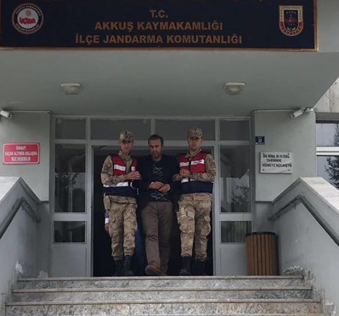 Geçen ay yakalanıp, tutuklanan Mehmet Ali Çayıroğlu/ DHA