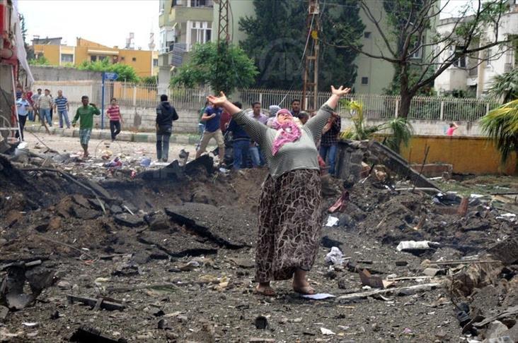 FOTO:AA - 11 Mayıs 2013'te Reyhanlı'daki terör saldırısında 52 kişi hayatını kaybetmişti.
