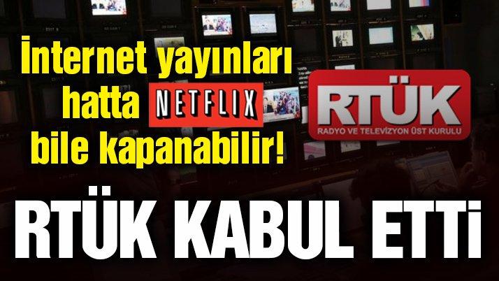 RTÜK oy birliği ile kabul etti! 'Türkiye Netflix'i yasaklayan ilk ülke olabilir'