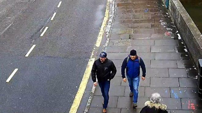 İngilizler güvenlik kamerası görüntülerini yayınlamıştı.