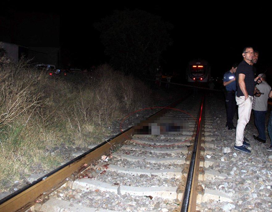 Hayatını kaybeden talihsiz kadın 20 metreden fazla sürüklendi. İHA