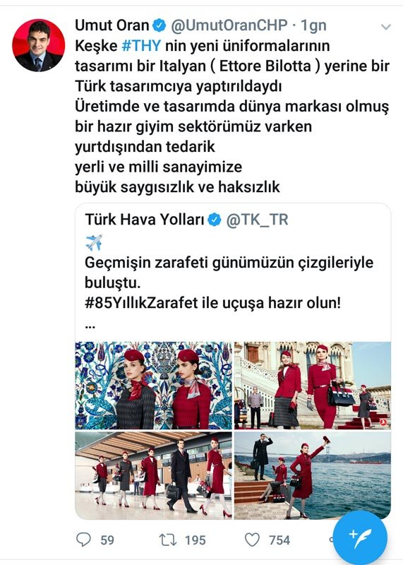 CHP'li Milletvekili Umut Oran'ın açıklaması.