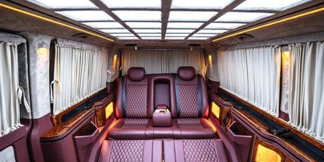 Valinin özel dizayn edilen aracı gündeme oturdu.