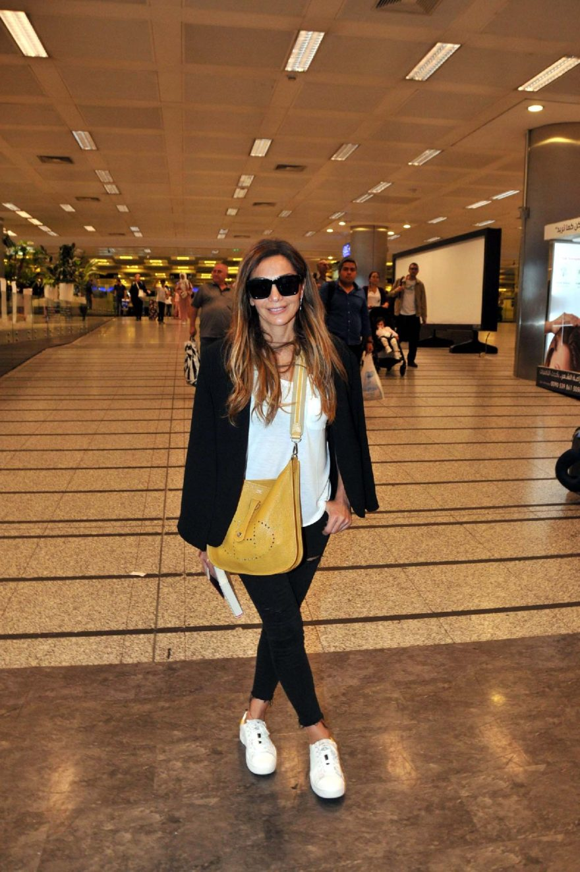 Yunan şarkıcı Despina Vandi İstanbul'da. DHA
