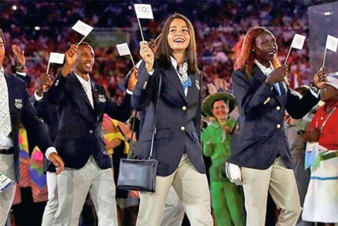 Yusra Mardini 2016 Rio Olimpiyatları'nda mücadele etmişti.