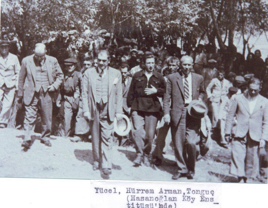 Yücel, Hasanoğlu Köy Enstitüsü'nde.