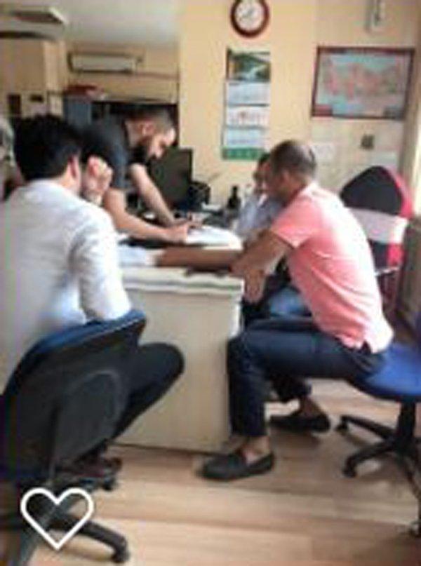 Alacaklarını tahsil edemeyen şirket mahkemeden icra karar çıkardıktan sonra Yozgat TSO'da icra tutanağı böyle tutuldu.