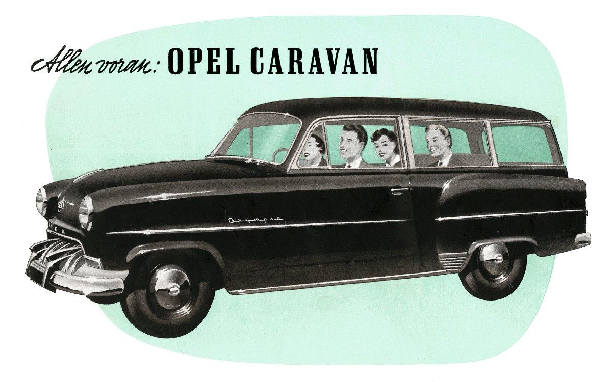 1953 Opel Olympia Rekord Wagon