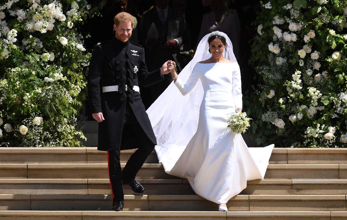 Prens Harry ve Meghan Markle 19 Mayıs'ta evlenmişti.