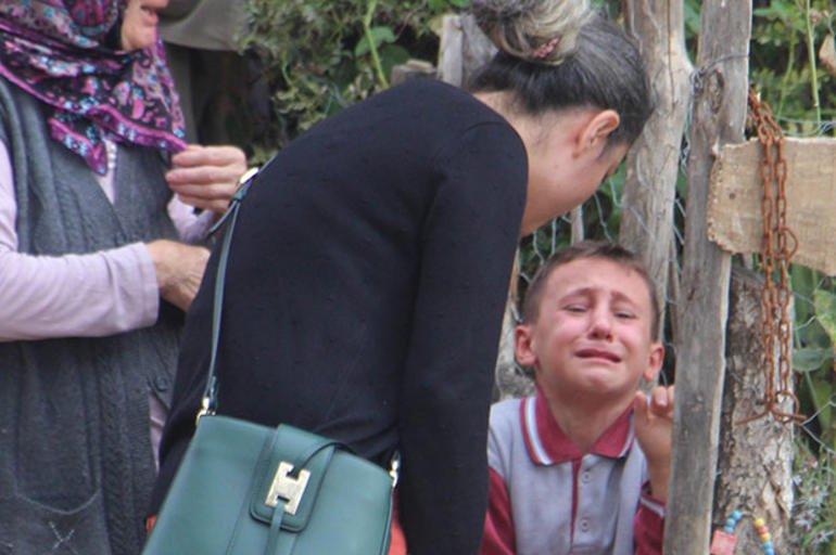 Halil Göksu amcası için böyle gözyaşı döktü/ DHA