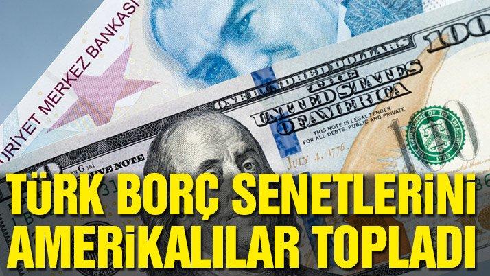 Türk tahvillerini ABD'liler topladı