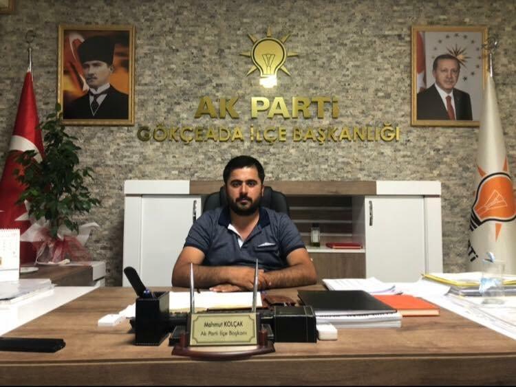AKP İlçe Başkanı Ümit Mahmut Kolçak