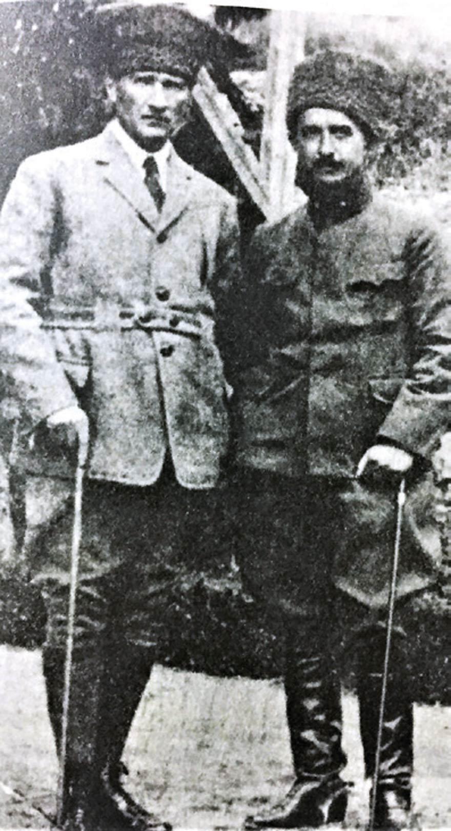 İsmet Paşa, Atatürk ile Ankara'da. (1921)