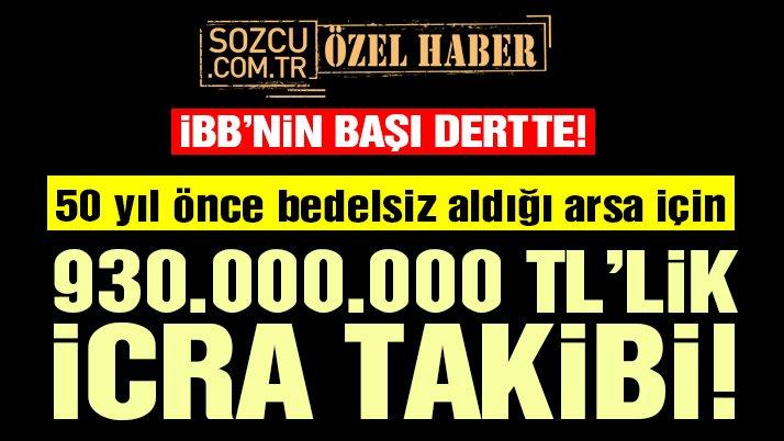 Reina'nın sahibinden İBB'ye 930 milyon TL'lik icra takibi