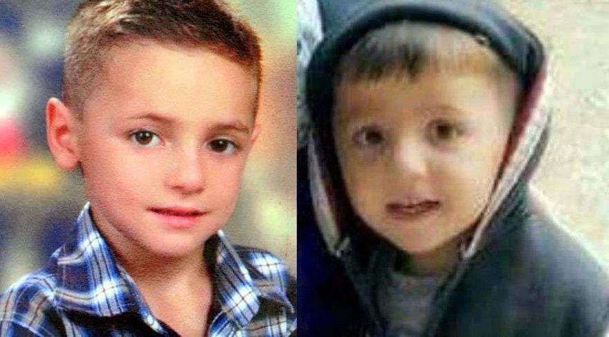 8 yaşındaki Bayram Erol ile 5 yaşındaki Dursun Kaan Taşçı tarihinde kayboldu Foto: DHA