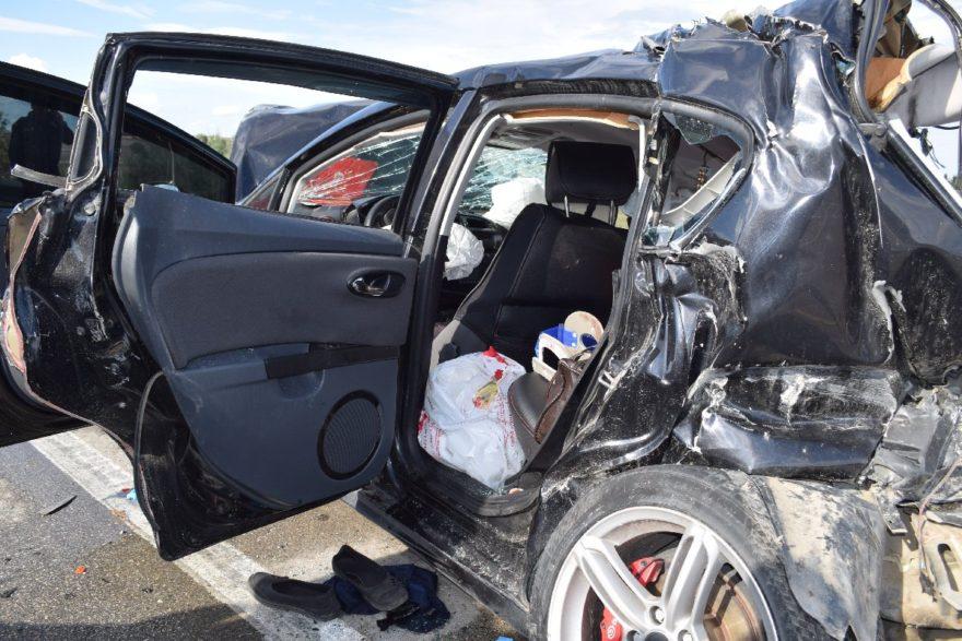 Kazada 2 kişi ölürken 1'i çocuk 3 kişi de yaralandı. İHA