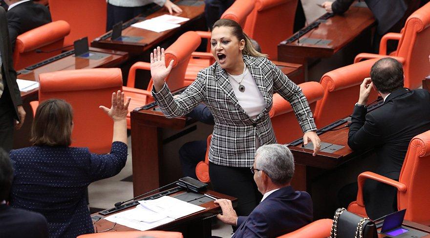 Önergenin kabulünün ardından milletvekillerinin sevinci. Foto: Zekeriya Albayrak