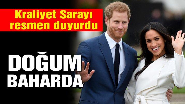 Kraliyet Sarayı açıkladı… Meghan hamile!