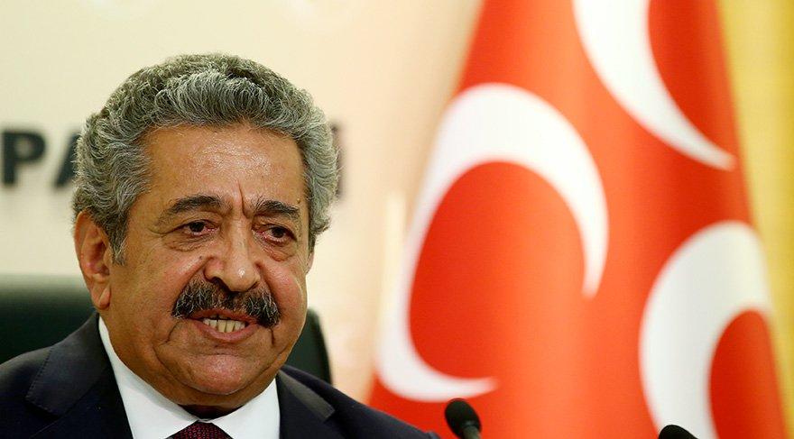 MHP Genel Başkan Yardımcısı Feti Yıldız. Foto: AA