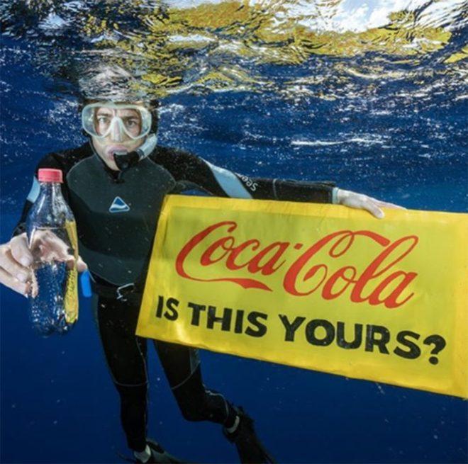Greenpeace'in 'Bu sizin mi?' kampanyası.