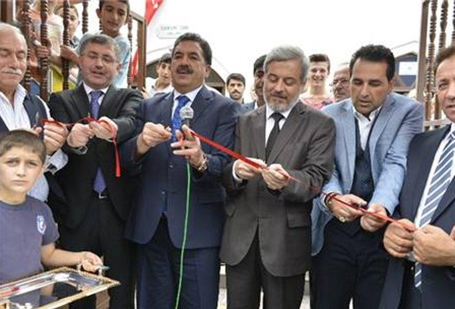 FOTO:İHA - Caminin restorasyon sonrası açılışı 2014 yılında yapılmıştı.