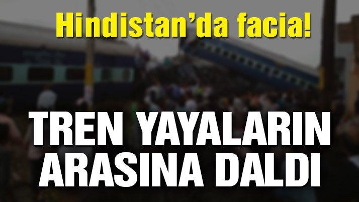 Son Dakika… Hindistan'daki tren faciasında en az 50 ölü