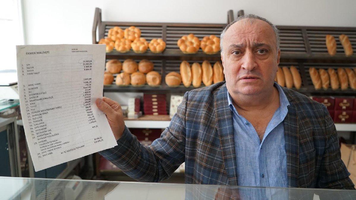 'Ben ekmeği 2 TL'den satacağım isteyen alır istemeyen almaz'