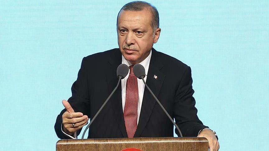 Erdoğan: Kadınlarımız camilere neden giremiyor