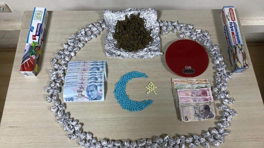 Başkentte uyuşturucu satıcılarına polisten darbe