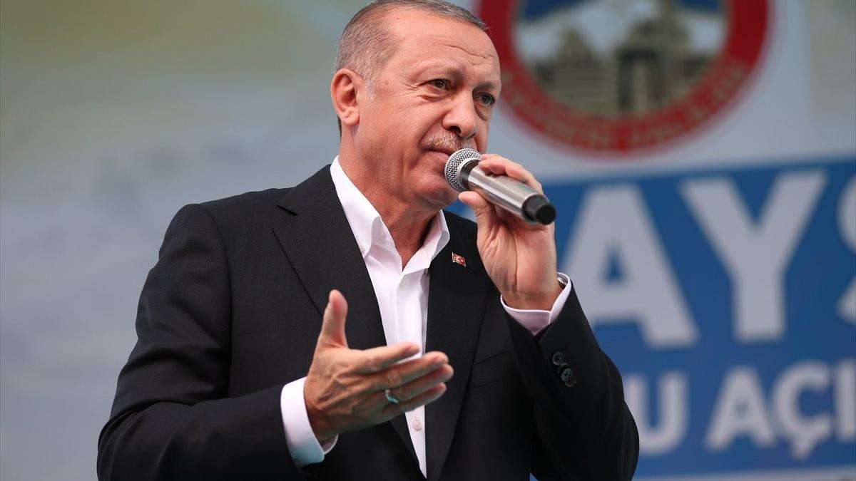 Cumhurbaşkanı Erdoğan: CHP'nin İş Bankası hisselerini inşallah Hazine'ye devredeceğiz
