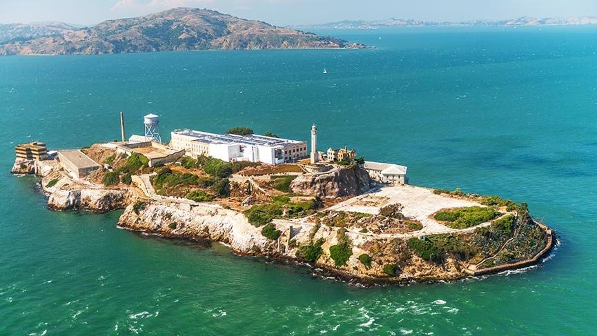 San Francisco'nun imkansızlar adası Alcatraz