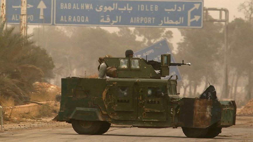 İdlib'den ağır silahlar çekiliyor
