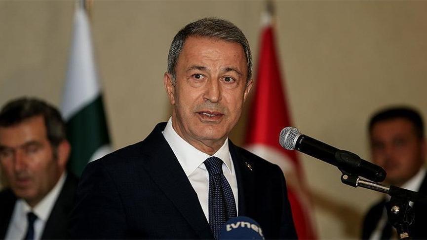 Milli Savunma Bakanı Akar'dan terör açıklaması!