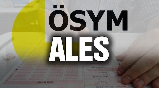 ALES sonuçları açıklandı! ALES sınav sonuçları sorgulama ekranı…