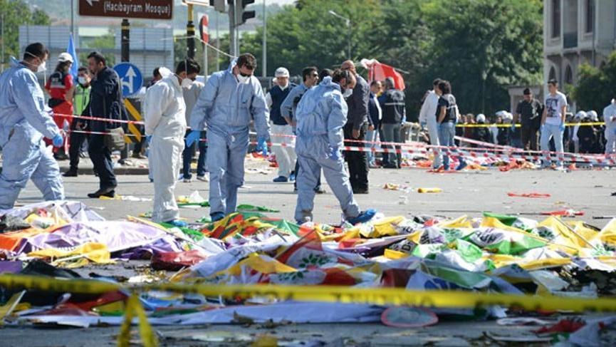 10 Ekim Ankara Garı katliamının 3. yıl dönümü