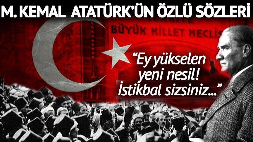 Atatürk'ün Cumhuriyet sözleri