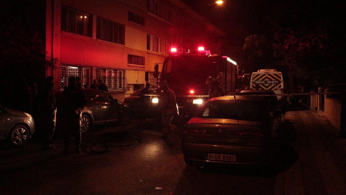 Üsküdar'da yangın faciası! Bir kişi öldü