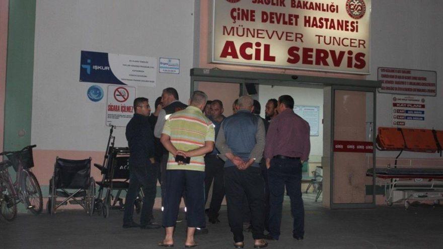 Aydın'da inanılmaz kaza: Elektrik akımında saçları yandı