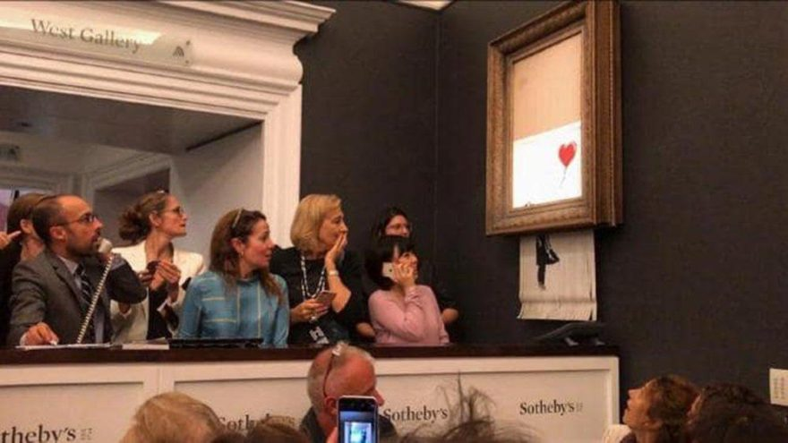 Dünyanın konuştuğu olayda oklar ona çevrildi… Banksy ifşa mı oldu?