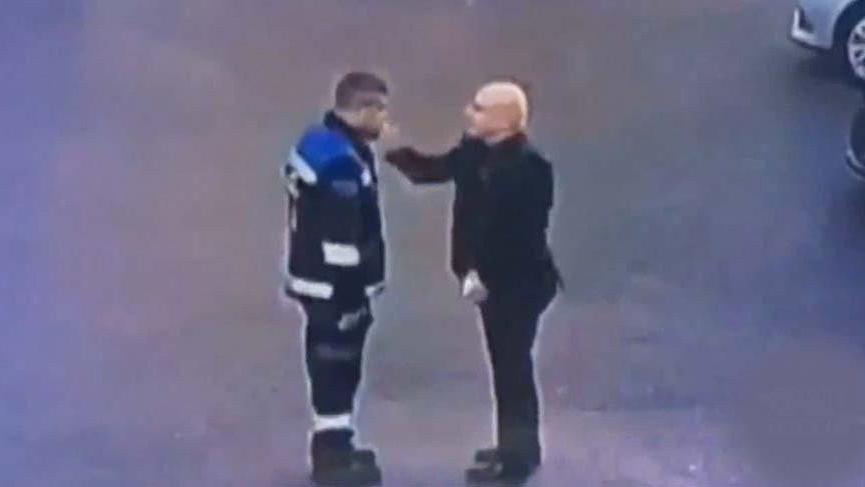 Zabıta memurunu döven daire başkanı hakkında hapis istemi