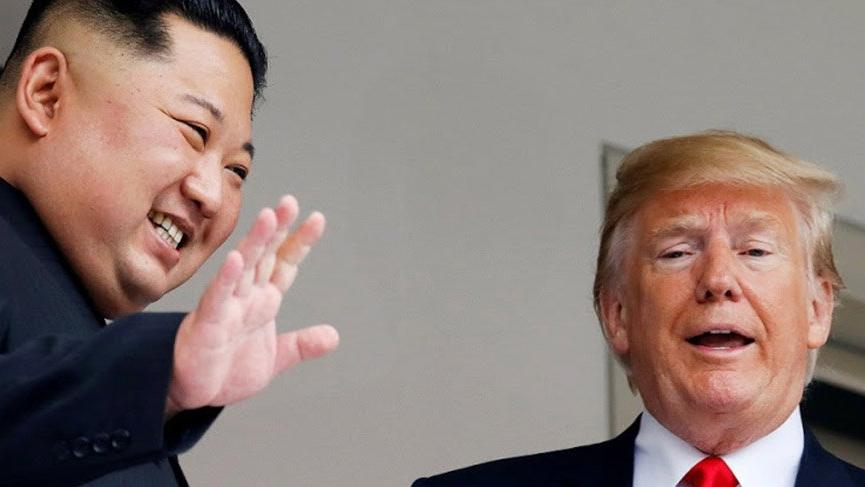 Trump'tan Kim Jong-un açıklaması