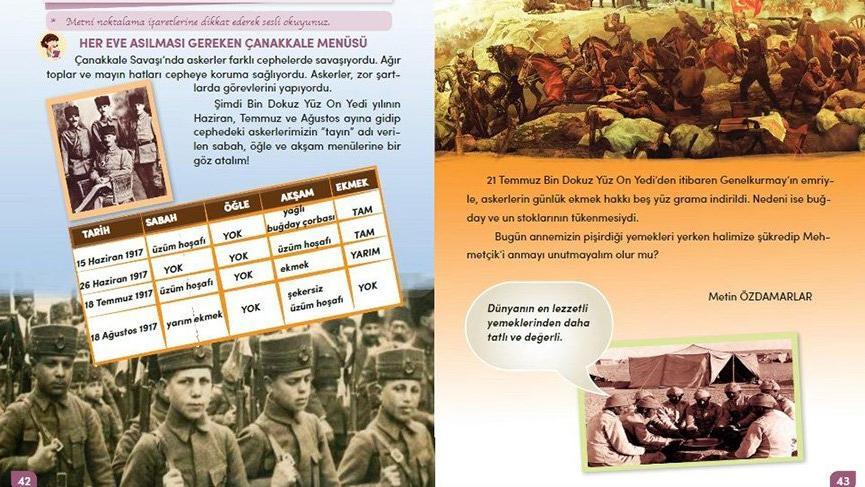 MEB savaşları karıştırdı! Ders kitabında Çanakkale hatası