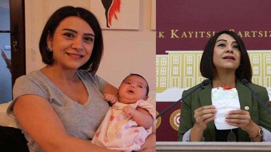 İki ay önce anne olan CHP'li vekil isyan etti: Bebek bezine yüzde 100 zam geldi