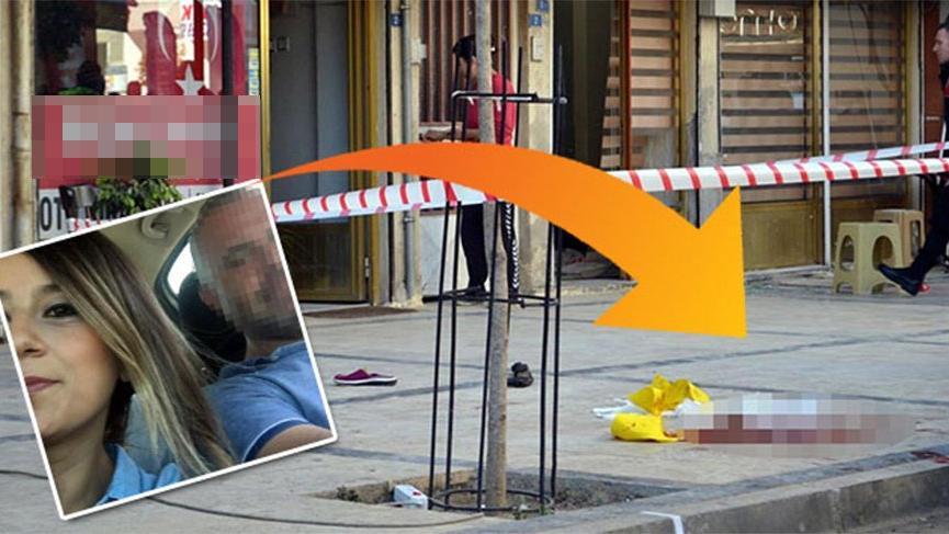Eski eşini, iş yerinde pompalı tüfekle öldürdü