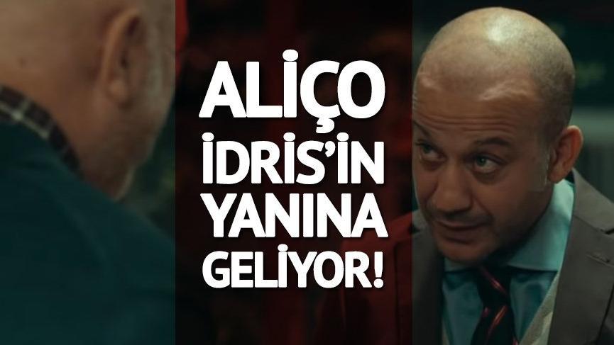 Çukur 38.bölüm fragman/ilk sahne: Aliço, İdris'in yanına geliyor!